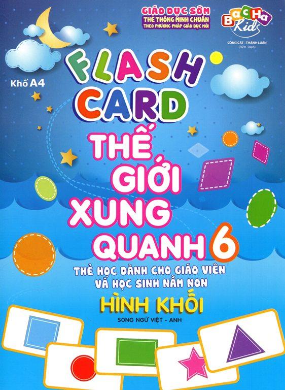 Flashcard Thế Giới Xung Quanh 6 - Hình Khối