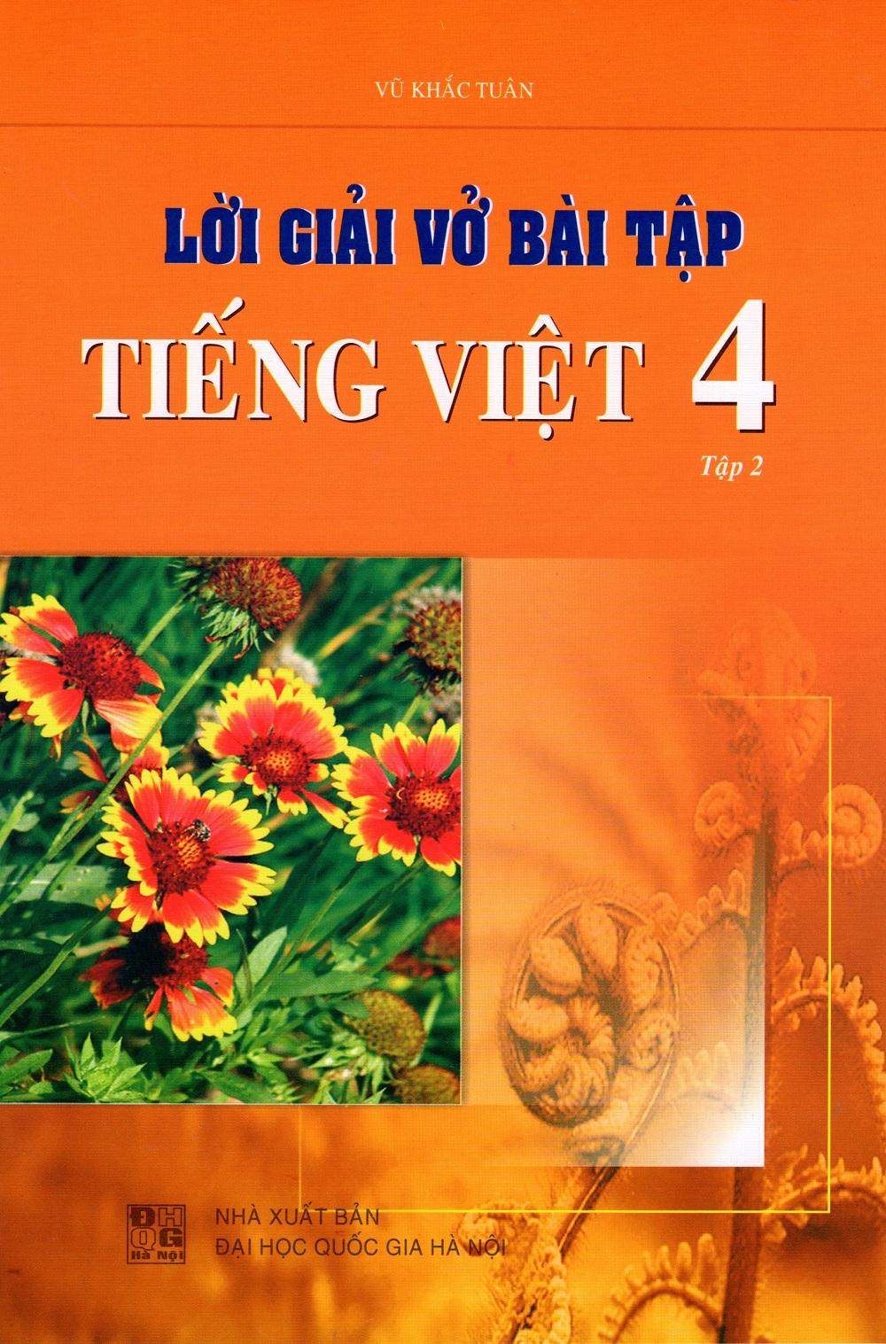 Lời Giải Vở Bài Tập Tiếng Việt Lớp 4 (Tập 2)