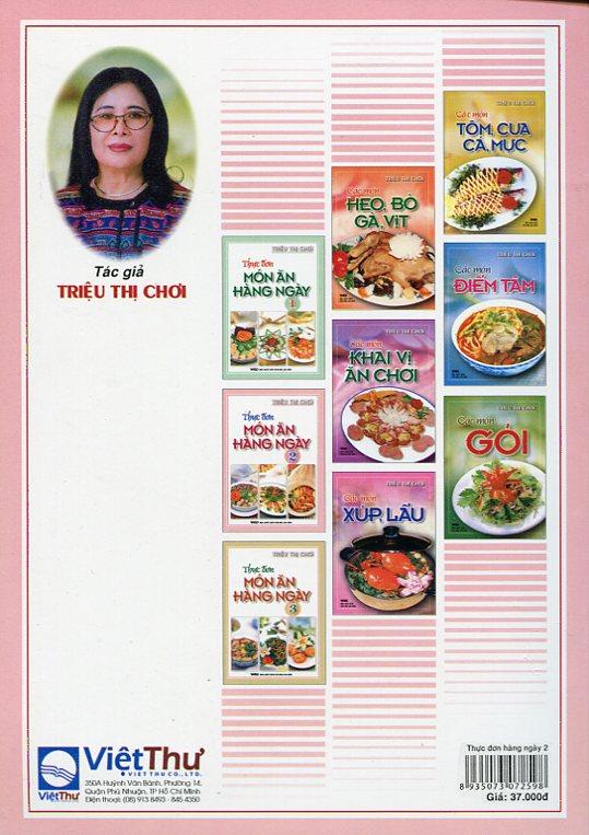 Thực Đơn Món Ăn Hàng Ngày -Tập3