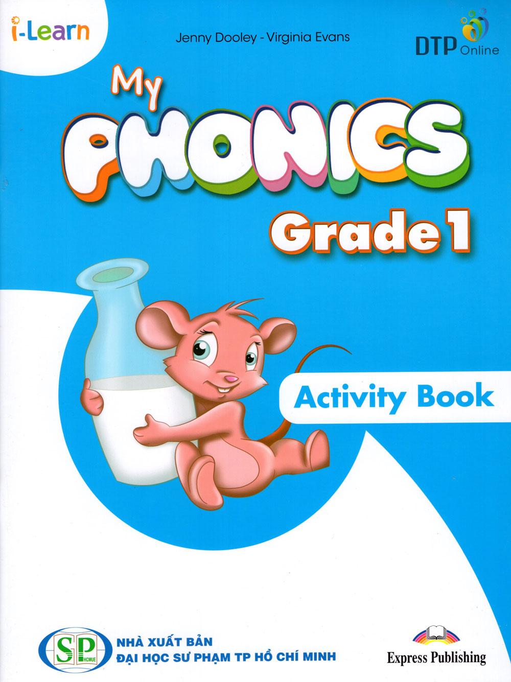 i-Learn My Phonics Grade 1 Workbook (Phiên Bản Dành Cho Các Tỉnh)