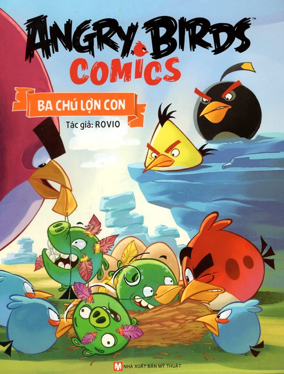Angry Birds Comics - Ba Chú Lợn Con - 8935210213723,62_151272,25000,tiki.vn,Angry-Birds-Comics-Ba-Chu-Lon-Con-62_151272,Angry Birds Comics - Ba Chú Lợn Con