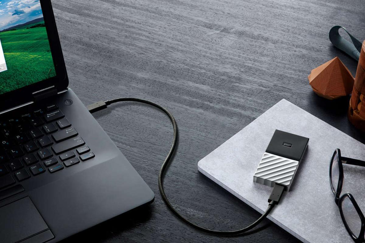 Ổ Cứng Di Động WD My Passport SSD 1TB - Hàng Chính Hãng