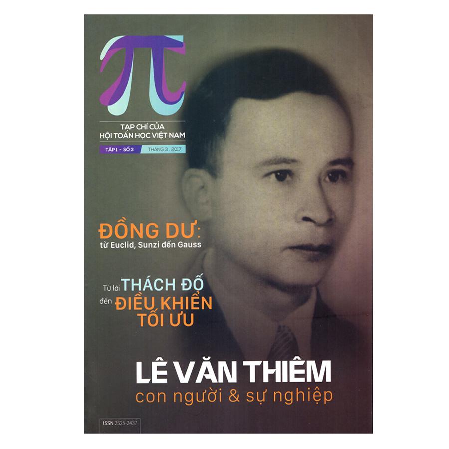 Pi Tạp Chí Toán học – Tháng 3/2017