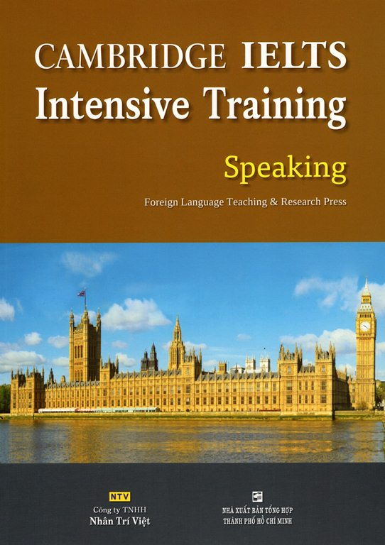 Cambridge IELTS Intensive Training Speaking (Kèm CD)