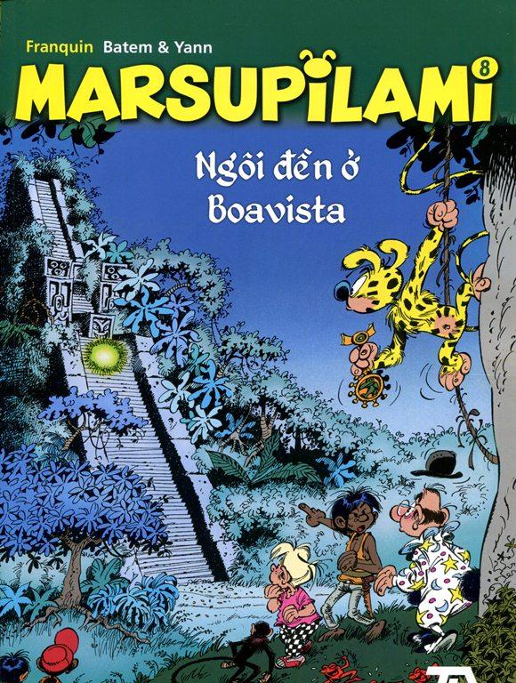 Khuyên đọc sách Marsupilami (Tập 8) - Ngôi Đền Ở Boavista
