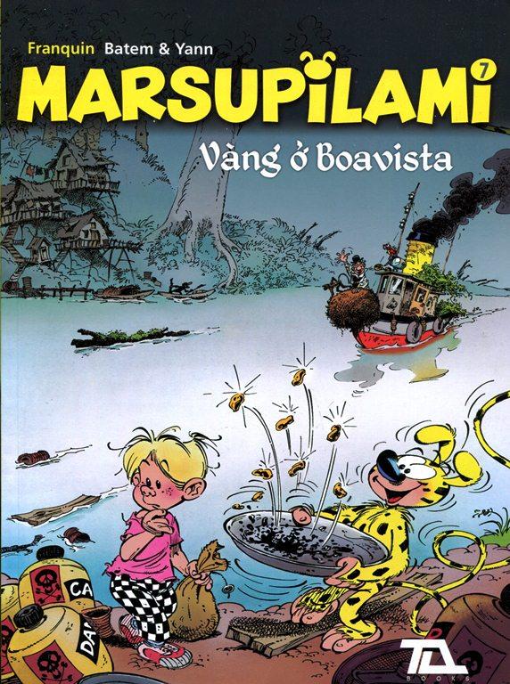Marsupilami (Tập 7) – Vàng Ở Boavista