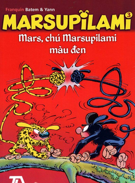 Khuyên đọc sách Marsupilami (Tập 3) - Mars, Chú Marsupilami Màu Đen