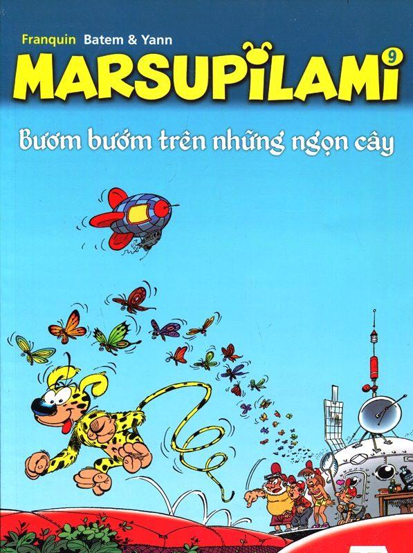 Marsupilami (Tập 9) – Bươm Bướm Trên Những Ngọn Cây