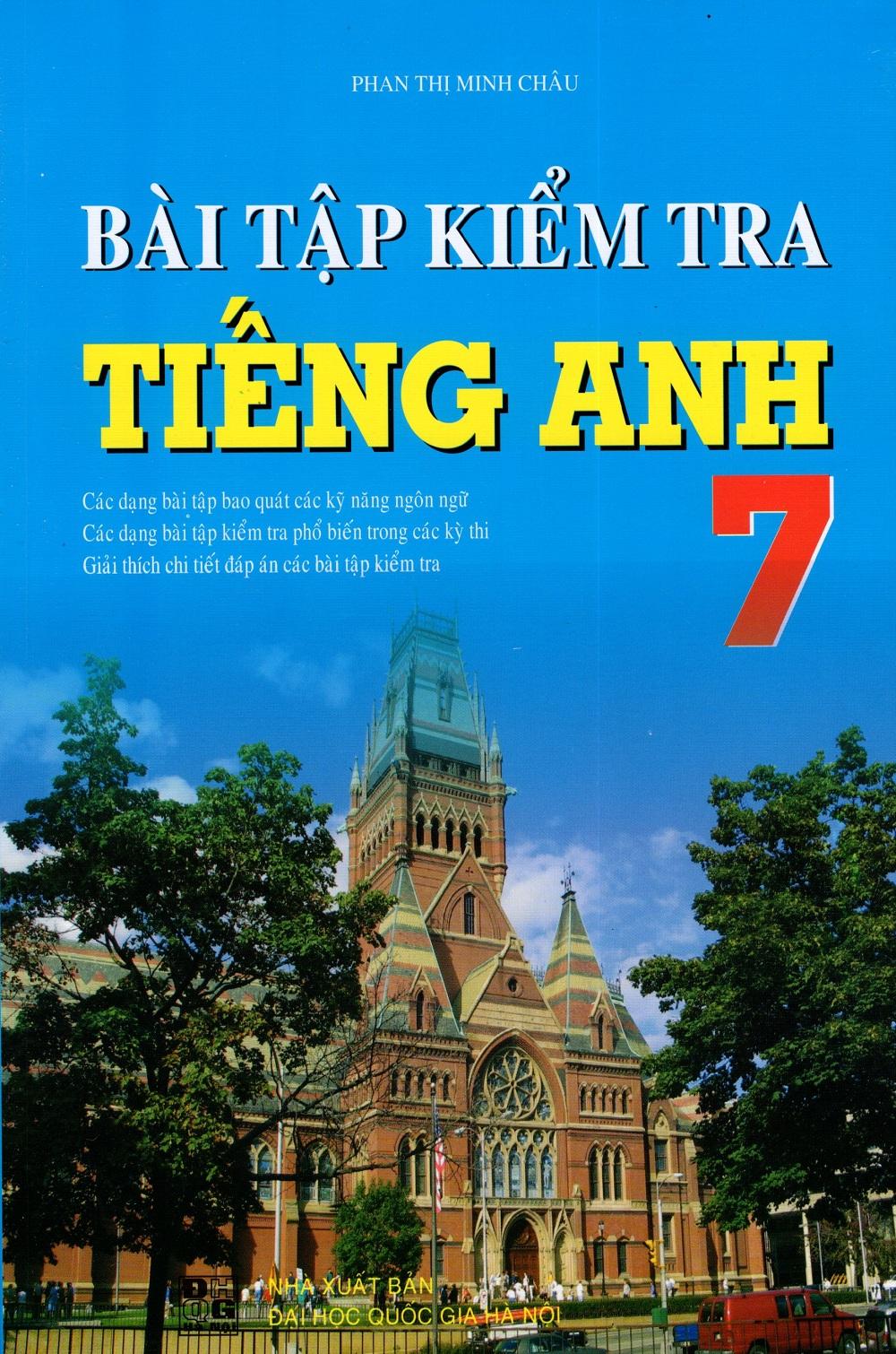 Bài Tập Kiểm Tra Tiếng Anh Lớp 7