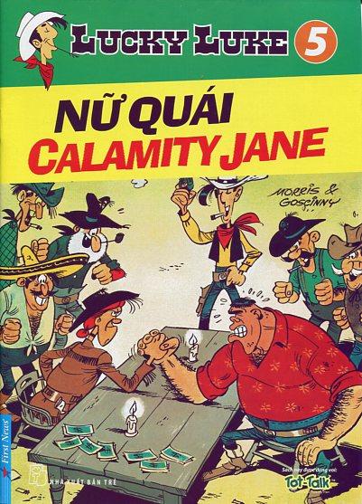 Lucky Luke 5 - Nữ Quái Calamity Jane - 8935086818435,62_29622,24700,tiki.vn,Lucky-Luke-5-Nu-Quai-Calamity-Jane-62_29622,Lucky Luke 5 - Nữ Quái Calamity Jane