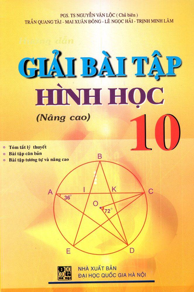 Giải Bài Tập Hình Học Lớp 10 (Nâng Cao) (2015)