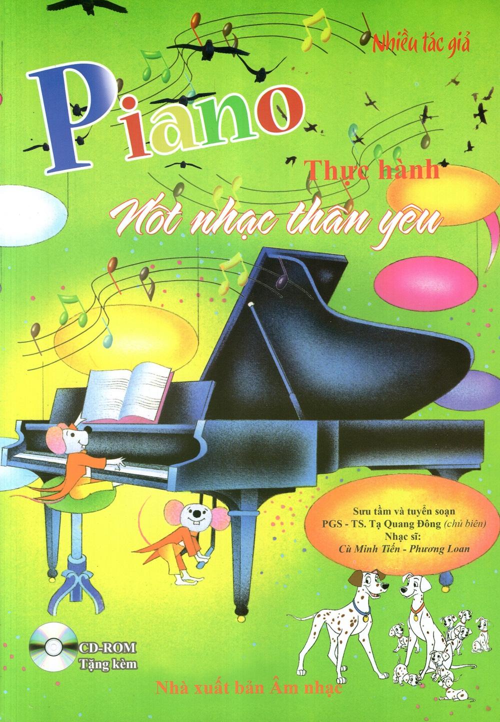 Piano Thực Hành – Nốt Nhạc Thân Yêu
