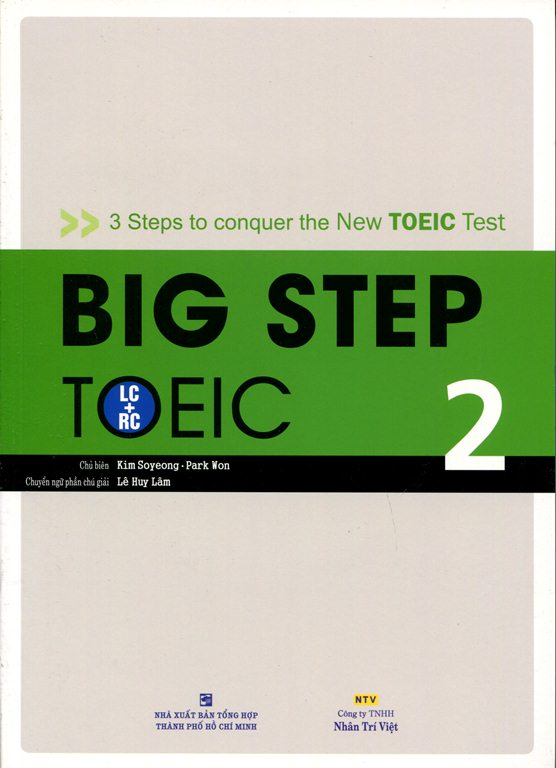 Big Step TOEIC 2 (LC + RC) - Kèm CD