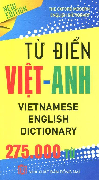 Từ Điển Việt – Anh 275.000 Từ