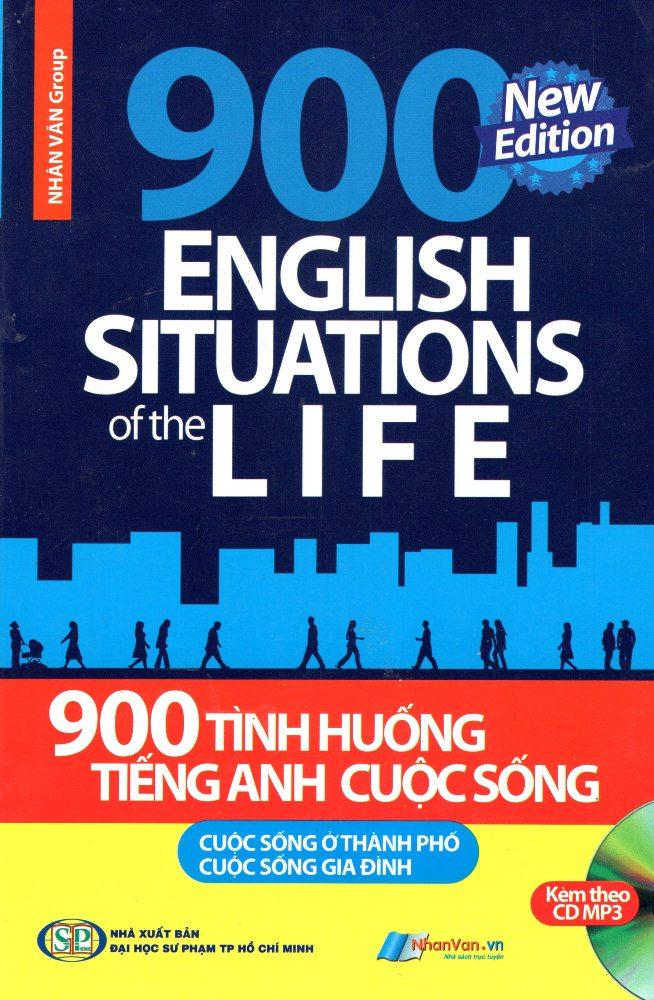 900 Tình Huống Tiếng Anh Cuộc Sống (Kèm CD) - 2172911715385,62_12723294,70000,tiki.vn,900-Tinh-Huong-Tieng-Anh-Cuoc-Song-Kem-CD-62_12723294,900 Tình Huống Tiếng Anh Cuộc Sống (Kèm CD)