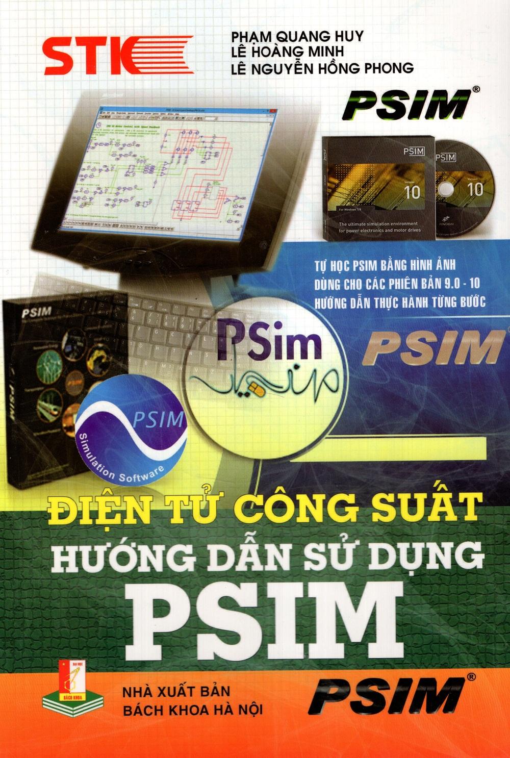 Điện Tử Công Suất – Hướng Dẫn Sử Dụng PSIM