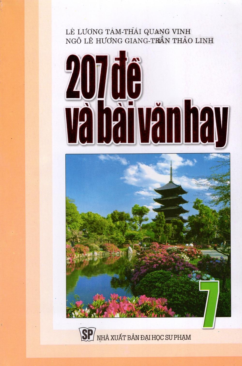 207 Đề Và Bài Văn Hay Lớp 7
