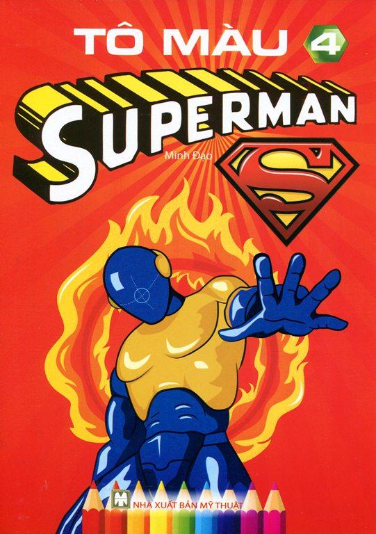 Tô Màu Superman (Tập 4) - 8935236403900,62_140311,12000,tiki.vn,To-Mau-Superman-Tap-4-62_140311,Tô Màu Superman (Tập 4)
