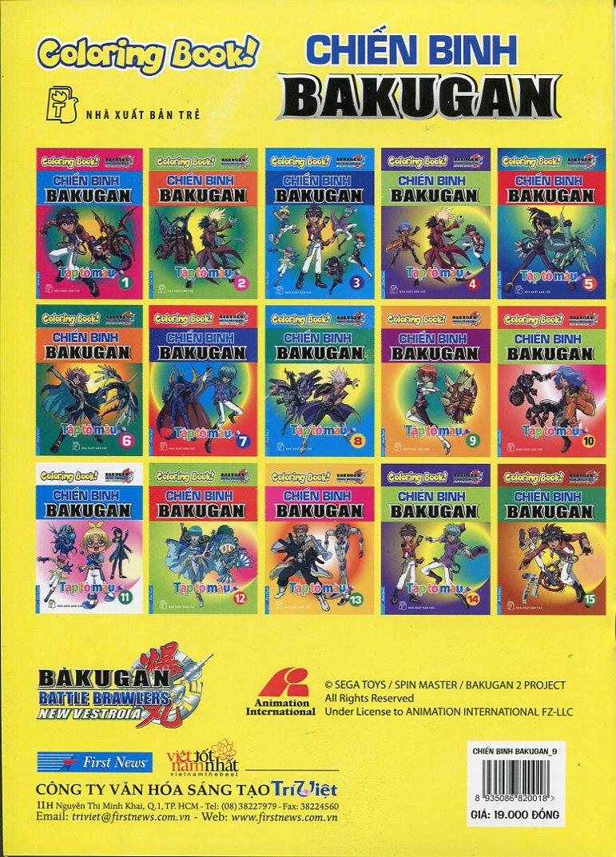 Tập Tô Màu - Chiến Binh Bakugan (Tập 9)