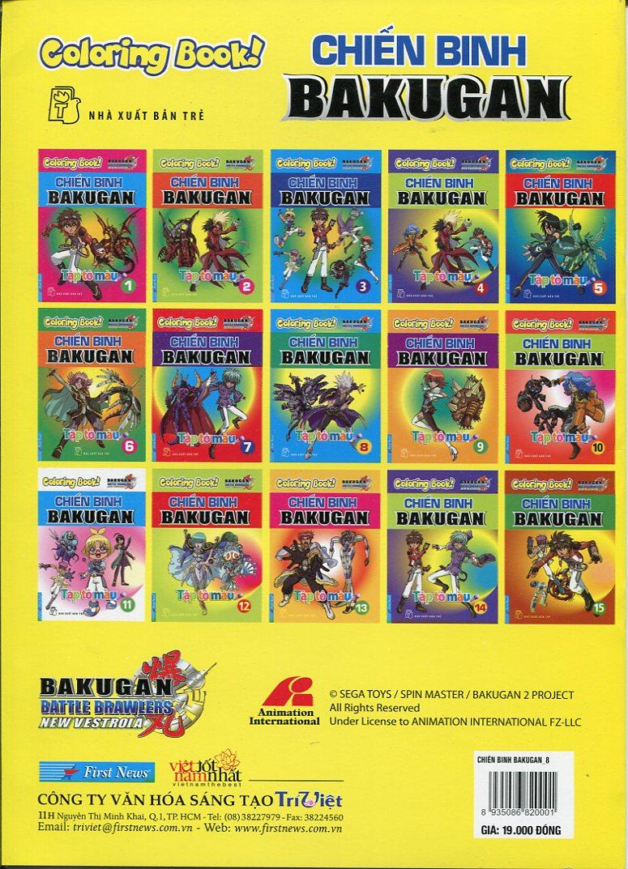 Tập Tô Màu - Chiến Binh Bakugan (Tập 8)