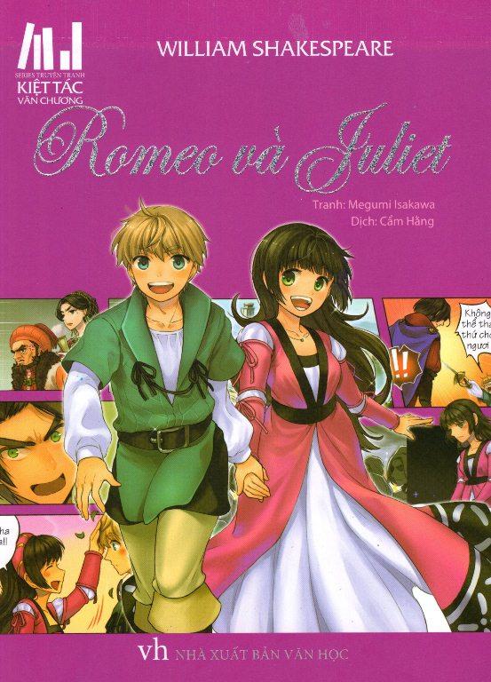 Series Truyện Tranh Kiệt Tác Văn Chương - Romeo Và Juliet - 9786046945505,62_145999,52000,tiki.vn,Series-Truyen-Tranh-Kiet-Tac-Van-Chuong-Romeo-Va-Juliet-62_145999,Series Truyện Tranh Kiệt Tác Văn Chương - Romeo Và Juliet