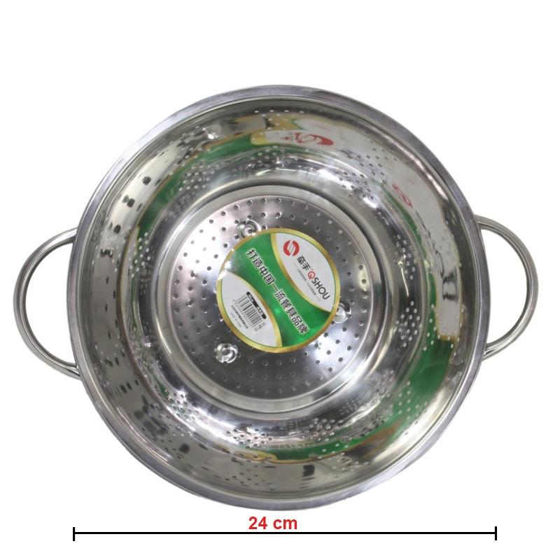 Rổ Inox 24cm IN.09-002