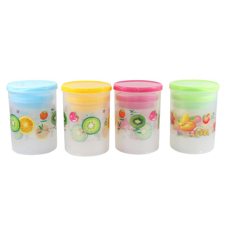 Bộ 3 Hủ Nhựa Có Nắp PL.02-005