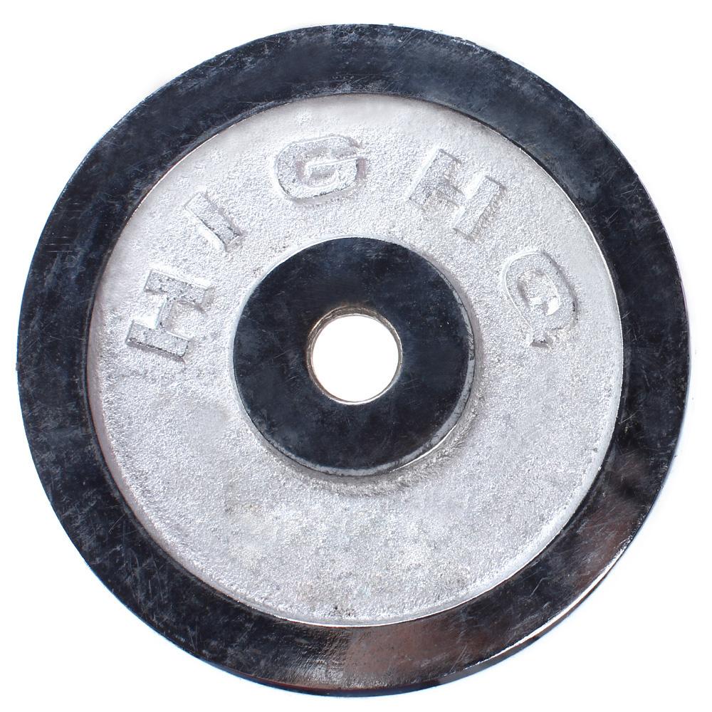 Tạ Miếng Inox Trắng (2.5kg)