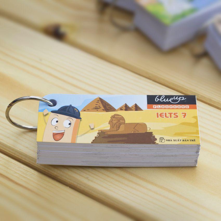 Hộp Blueup IELTS 500 Essential Flashcards For IELTS - Phần 2 - Alphabook