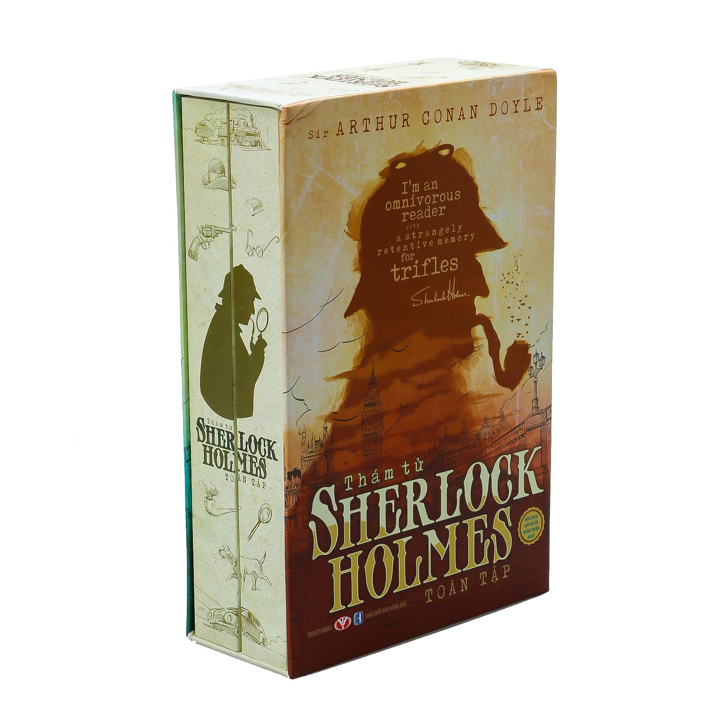 Combo Sherlock Holmes Toàn Tập (2 Tập)