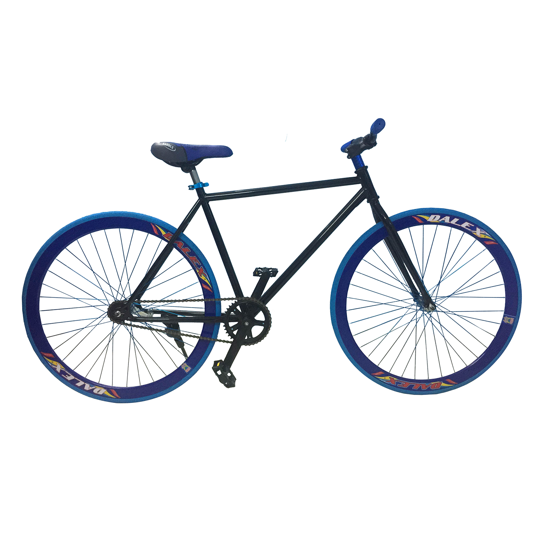 Xe Đạp Fixed Gear Single Sportslink - Đen Phối Xanh