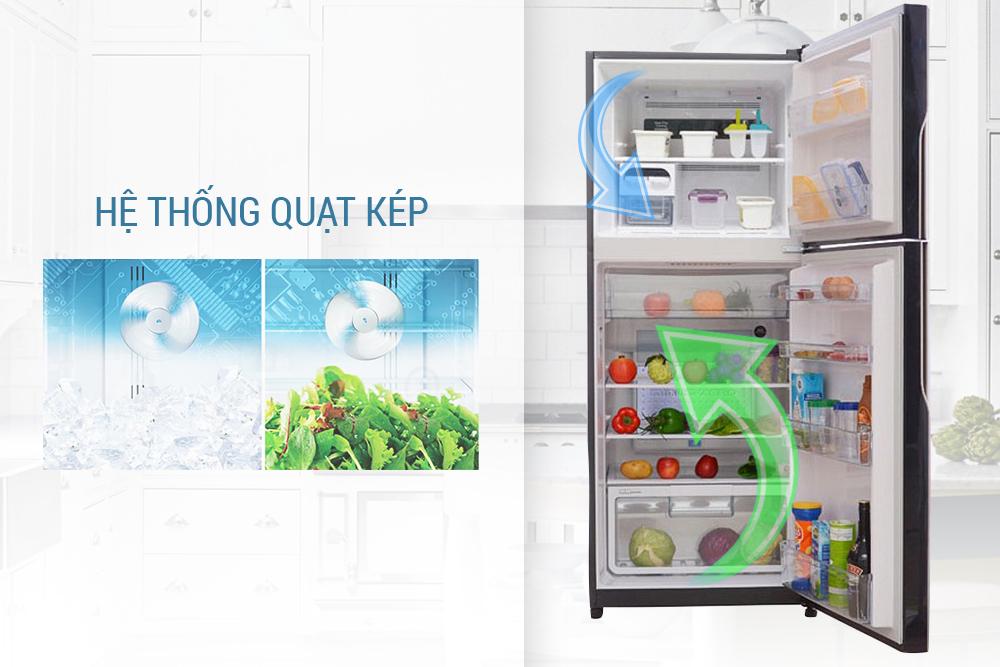 Tủ Lạnh Inverter Hitachi R-VG440PGV3-GBK (365L)
