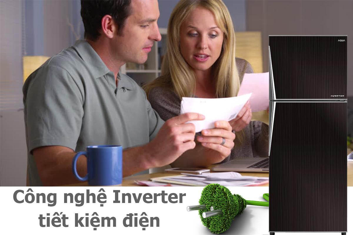 Tủ Lạnh Inverter Aqua AQR-IP285AN (267L)