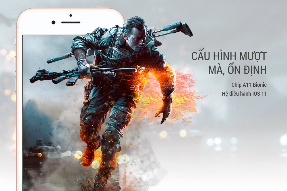 Điện Thoại iPhone 8 256GB - Hàng Chính Hãng Mã VN/A