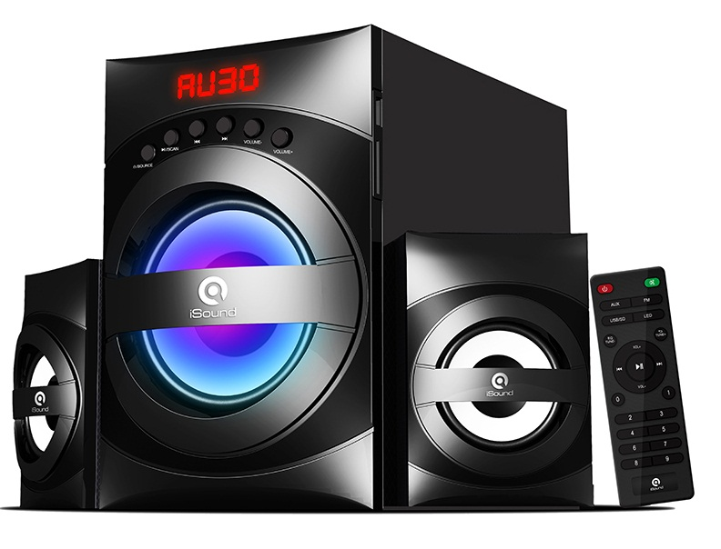 Loa iSound SP220 2.1 28W (USB, Thẻ SD, FM)