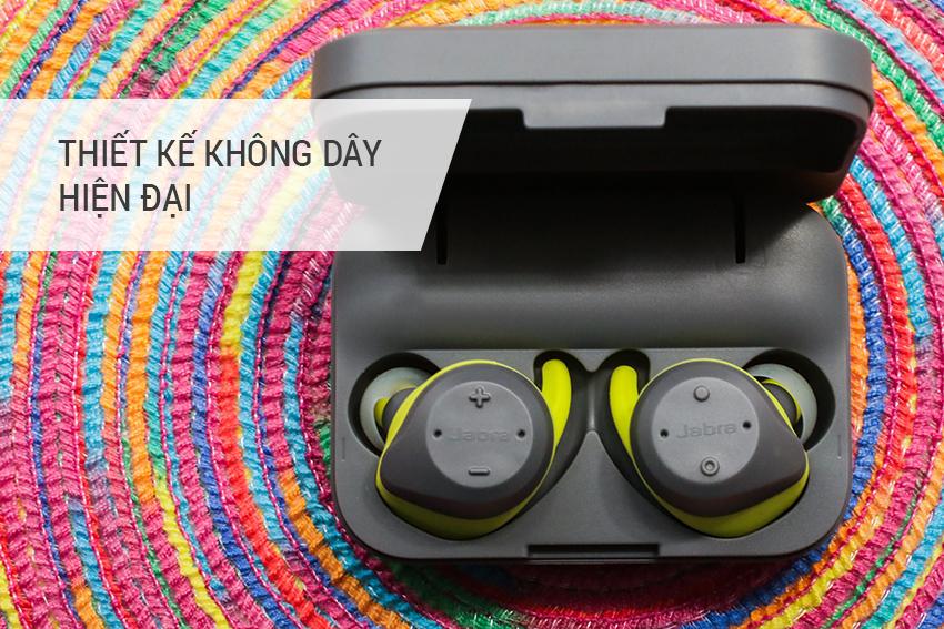 Tai Nghe Bluetooth Jabra Elite Sport - Version 2017 - Hàng Chính Hãng
