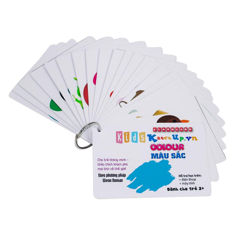 KatchUp Flashcard Tiếng Anh Cho Bé - Màu Sắc - High Quality