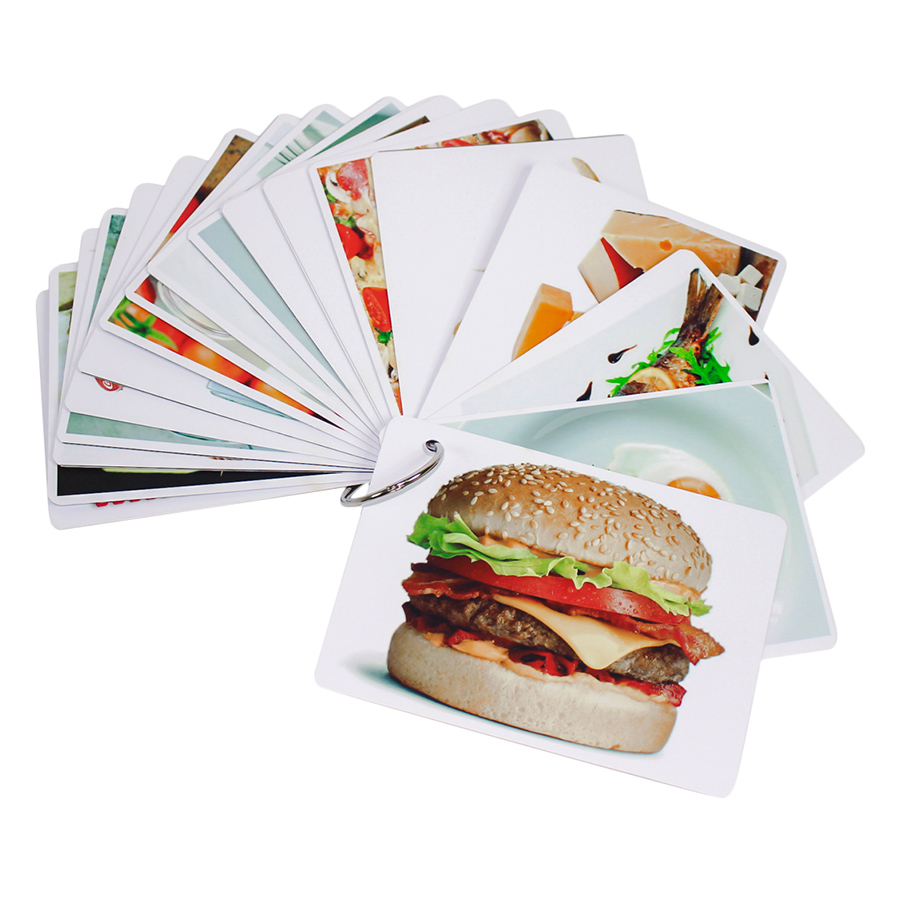 KatchUp Flashcard Tiếng Anh Cho Bé - Thức Ăn - High Quality