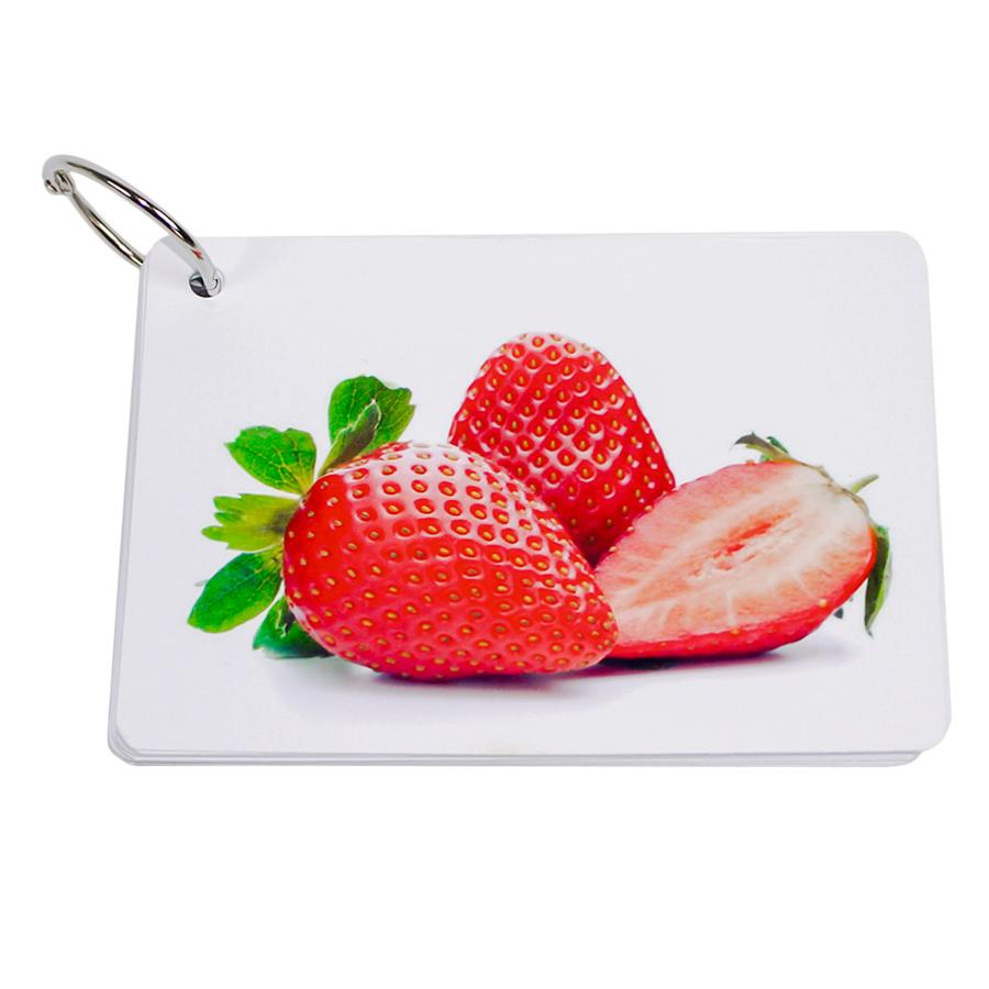 KatchUp Flashcard Tiếng Anh Cho Bé - Trái Cây - High Quality