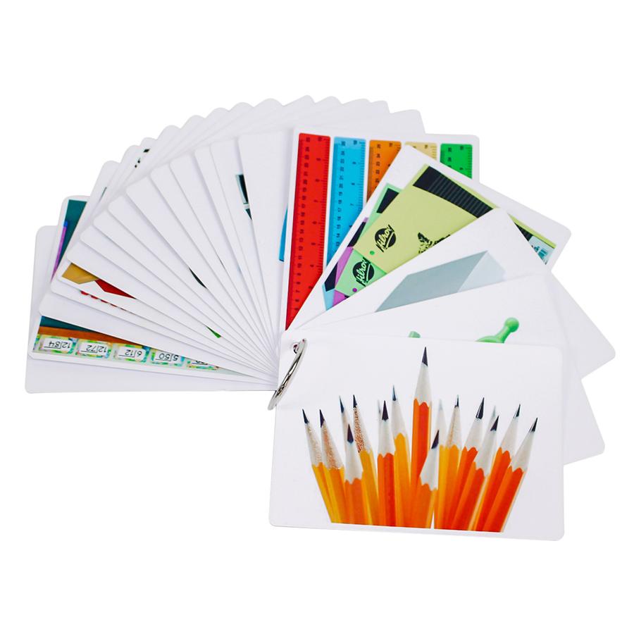 KatchUp Flashcard Tiếng Anh Cho Bé - Trường Học - High Quality