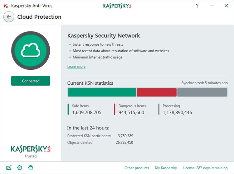 Kaspersky Anti Virus Cho 1 Máy Tính - KAV1U - Hàng chính hãng