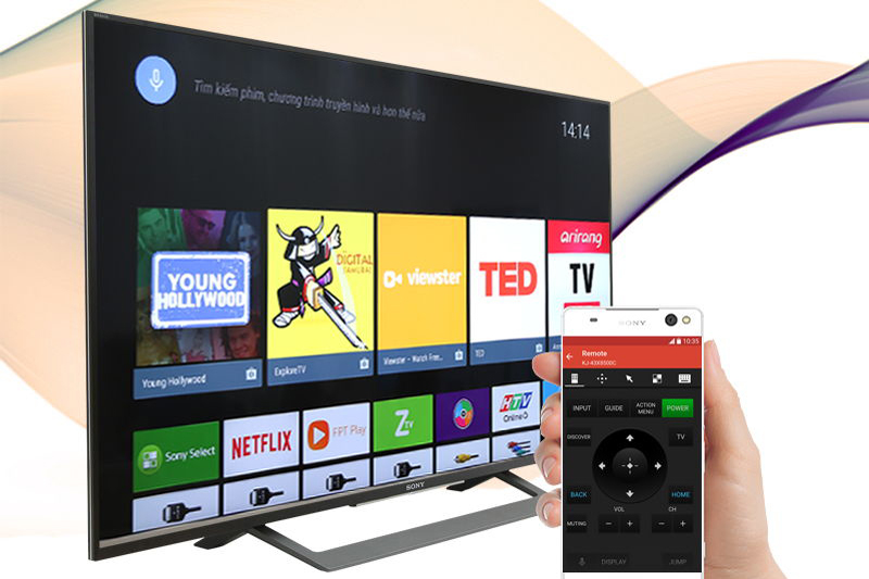 Android Tivi Sony 49 inch KD-49X8000D