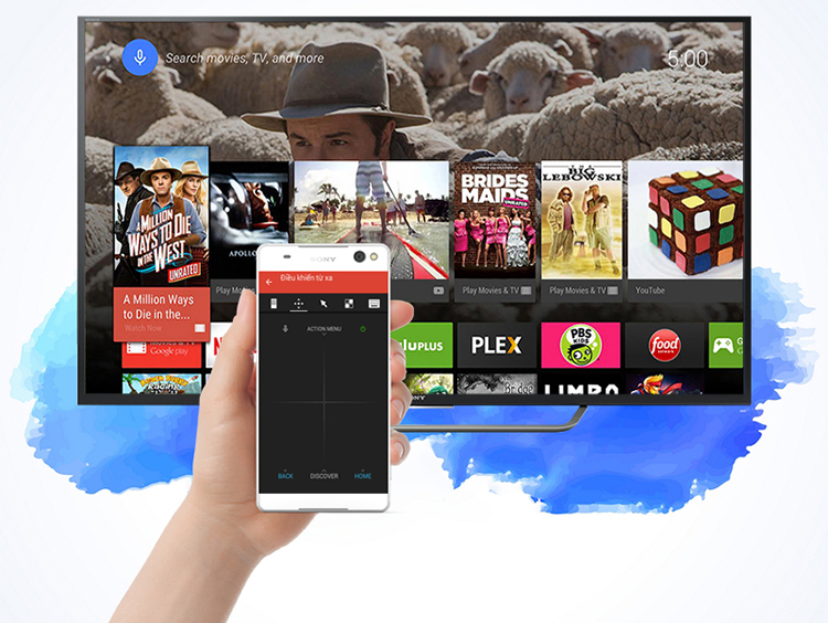 Android Tivi Sony 65 inch KD-65X7500D