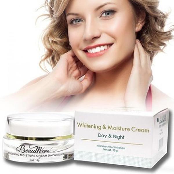 Kem Dưỡng Trắng Da Ngày Và Đêm Beaumore Whitening Moisture Cream Day & Night  TP002 (Hũ 15g)