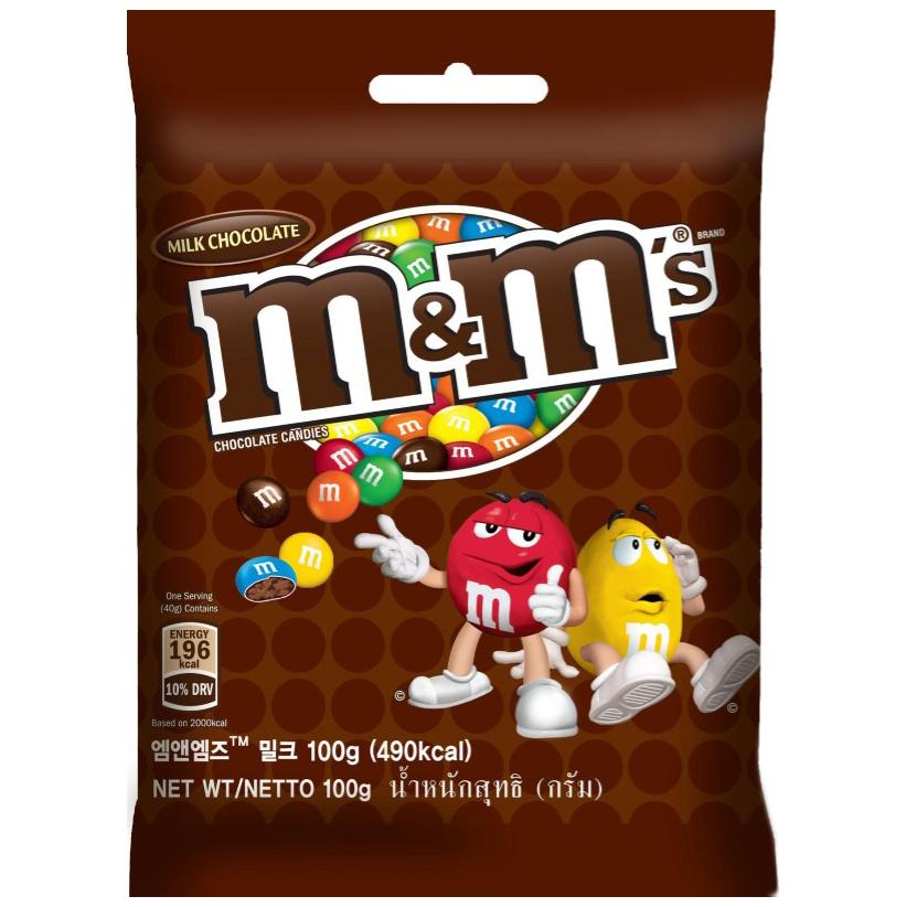 Kẹo Chocolate M&M's® Milk Gói 100g