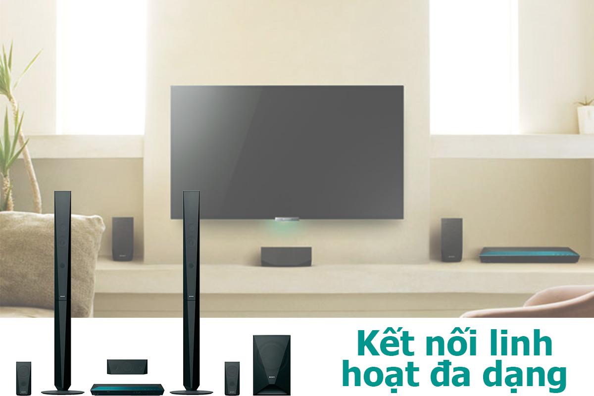 Dàn Âm Thanh Sony 5.1 kênh Bluray BDV-E4100 - MSP1
