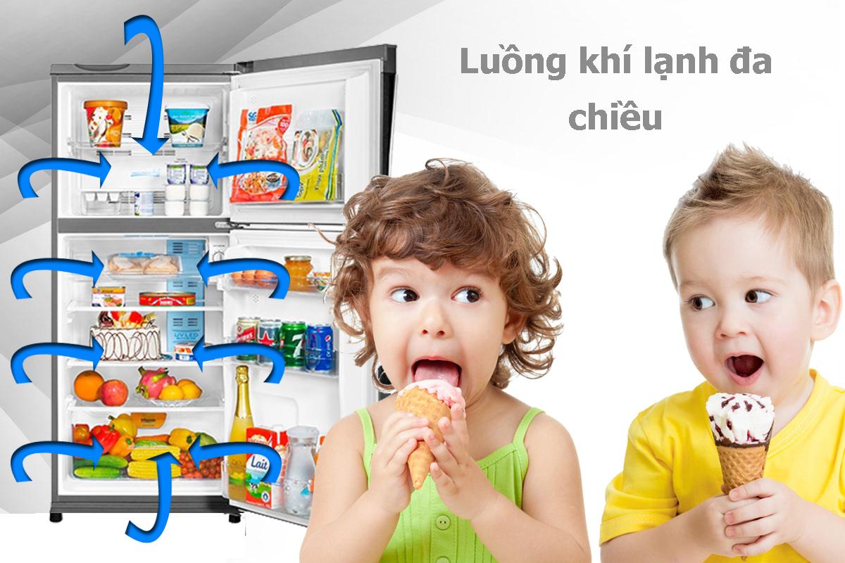 Tủ Lạnh Inverter Aqua AQR-IP285AN (281L)