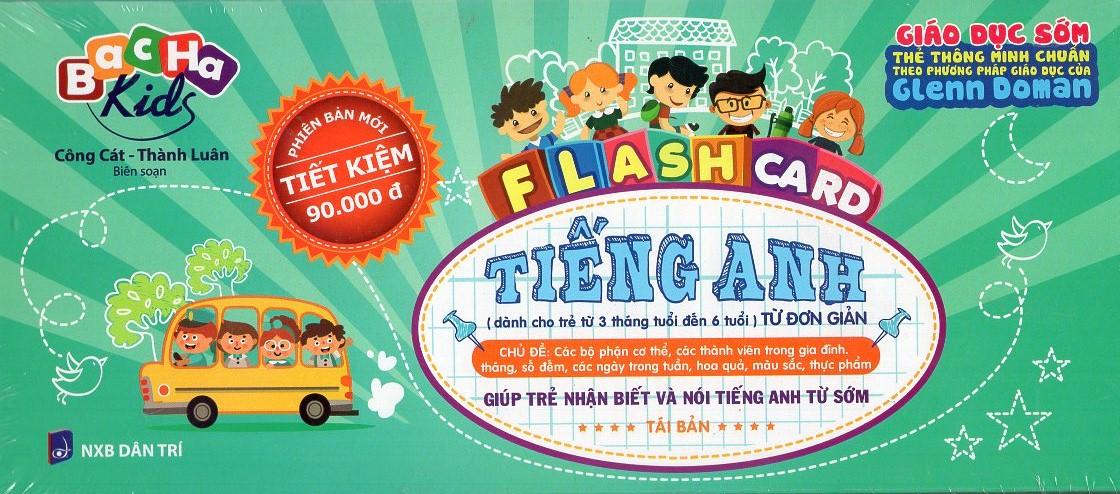 Flash Card Tiếng Anh - Từ Đơn Giản (Tái Bản)