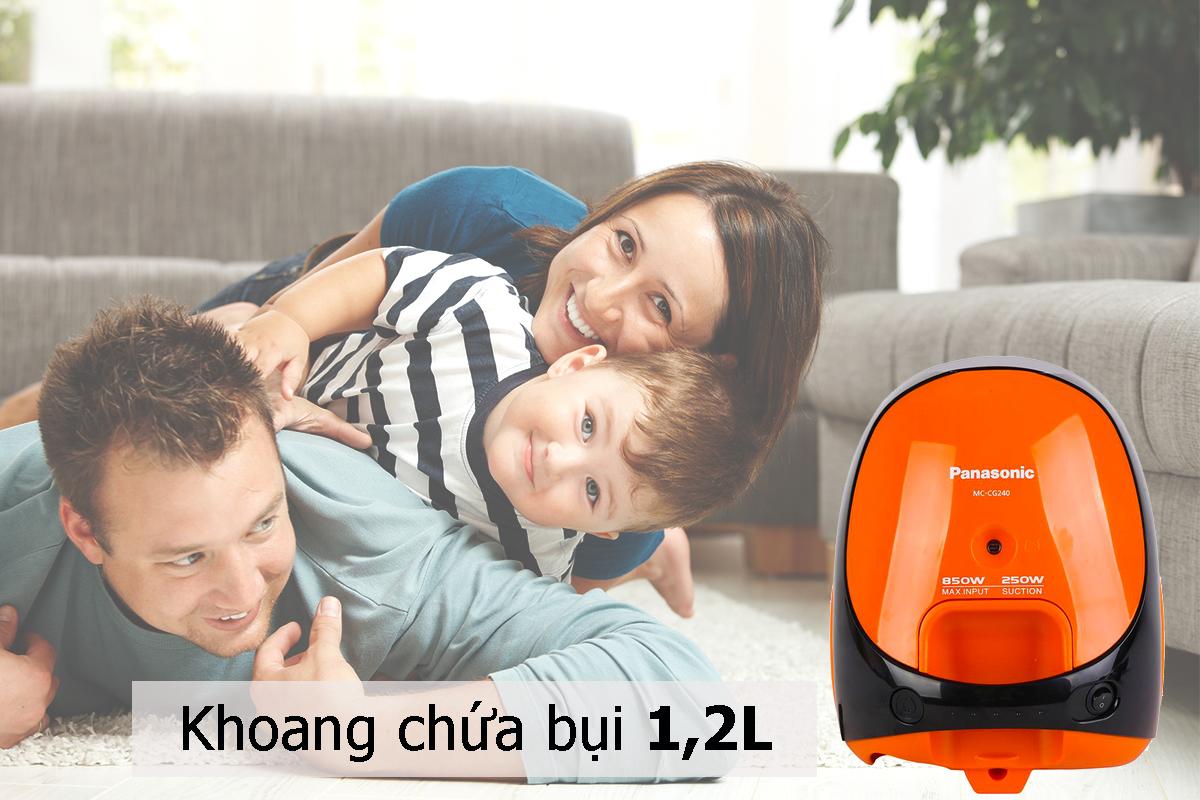 Máy Hút Bụi Panasonic PAHB-MC-CG240DN46 -1,4L