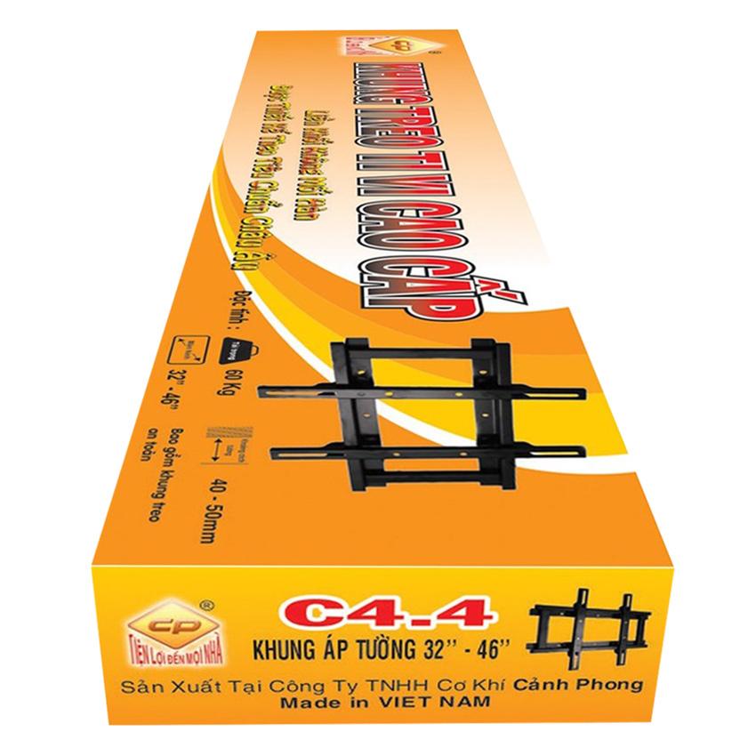 Khung treo tivi áp tường 32 - 46 inch C4.4 - Hàng Chính Hãng